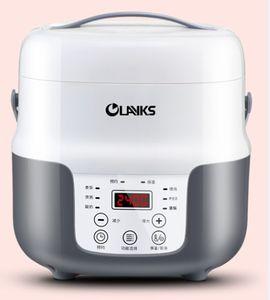 ذكي وظيفة تحفظ طنجرة صغيرة 220V عنبر المنزلية الأرز مصغرة طباخ كهربائي 2L 016