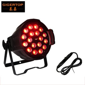 LED 18x18W Zoom Par Light RGBWA UV 6IN1 Display digitale Cree LED Zoom Funzione IP20 Stage Light Certificato CE