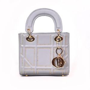 Bolso clásico clásico para damas hombro moda Messenger bag 2019 nuevo salvaje pequeño bolso cuadrado