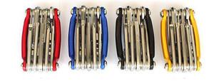NEUE Mini Reparatur Tasche Klappwerkzeug 11 in 1 Fahrrad Moutain Rennrad Werkzeug Set Radfahren Multi Repair Tools Kit Schraubenschlüssel