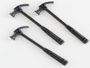 Special small plastic hammer mini claw hammer special for seamless nail frame