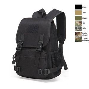 Oudoor Нейлоновая упаковка водонепроницаемый тактический пакет / сумка / рюкзак / рюкзак / насилие / боевой камуфляж Тактический камуфляж 20л рюкзак P11-036