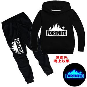 2020 notte fortezza notte Fortnite vestito chiaro scuole medie per bambini casuali dei bambini maglione tt068