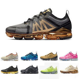 2019 Hot Cushion Lime green black Grey Volt Running Shoes Hombre Mujer Canyon Gold Pink Purple Aluminium Blue Trainers Zapatillas deportivas 36-45