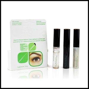 Augen-Peitsche-Kleber Schwarz Weiß Verfassungs-Kleber Wasserdicht falsche Wimpern Kleber Kleber Weiß und Schwarz erhältlich