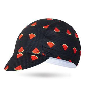 Klassische Watermelon Cycling Caps Männer und Frauen Bike Wear Fahrrad Cap MTB Kappen One-Size Kopfbedeckung Individuelle Radmütze Schals