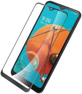 Für LG Stylo 6 Q51 Velvet Q61 K51 K61 Ausgeglichenes Glas Volldeckung 9H Premium-freier Film-Schirm-Schutz