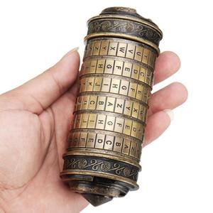I romantici Collezionismo Codice Da Vinci Alfabeto Blocco Mini Cryptex collezione di compleanno San Valentino Room Escape Puzzle Props