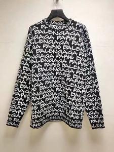 스웨터 20ss 바다 신문 인쇄 시리즈, 푸조 안장 주머니, 사용자 정의 오간자 리브, 가볍고 편안 상체, 흰색 자켓 O1