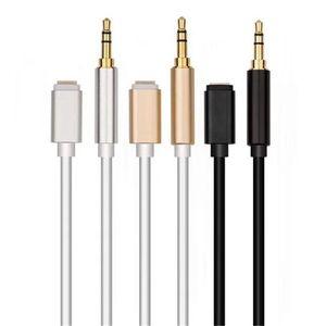 Audio jack 3,5 mm Câble d'extension Aux cordon d'alimentation voiture Haut-parleur Connecteur de casque
