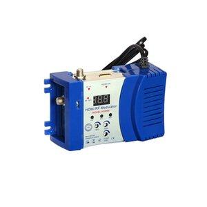 HDM68 Модулятор Digital RF HDMI AV-модулятор для преобразователя RF VHF UHF PAL / NTSC Стандарт Портативный модулятор для ЕС