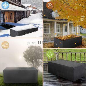 Grande Outdoor Furniture Capa para o Jardim Mesa Cadeira do pátio do Waterproof Mobiliário Outdoor Cadeira Coberta Quintal UV Jardim Mesa Shelter Protector