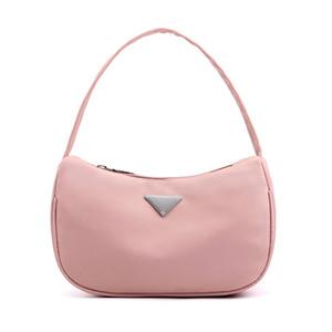 Waterproof Nylon Bolsa para Mulheres 2020 Doce Ladies Color pequenos sacos de ombro Fashion Design Saco do partido da axila Baguette Bolsa