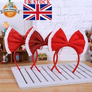 Adulti Bambini Natale Reindeer Antlers fascia del fiore del partito del vestito operato Copricapo