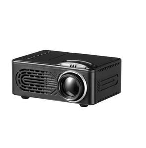 RD814 мини-проектор LCD батареи LED портативный проектор RD814 для домашнего кинотеатра Cinema LED USB Дети Детский Видео Media Player