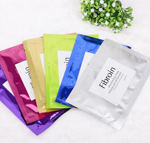 Thailand Fibroin Face Mask Silk Masque Skin Care Deep Moisturizing Facial Mask 40 pcs free shipping DHL
