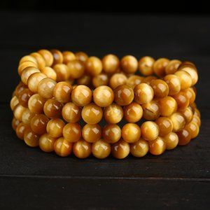 108 A Bracelet Men And For Women  Multi-storey Tigereye More Circle Quality Goods Hand String Friendship Bracelets