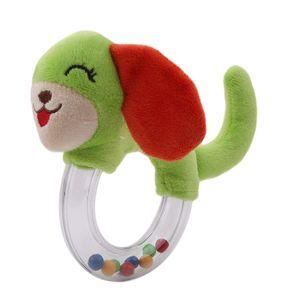 Newborn Baby Toys 0-12 Months Animal Baby Boy Girl Rattles Hand Bell Teether Infant Toddler Plush Toys enfant