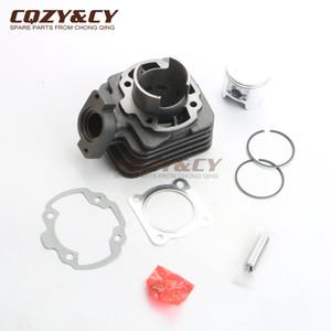 70cc cilindro kit guarnizioni La suite pistoni per Buxy 50 VGA427 Elyseo 50 DD G1AAK Elystar Advantage 47 millimetri