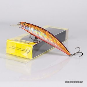 Cheap Lures 2019 Hot 9.5cm 15g Minnow Artificial Crankbait Wobblers Hard Bait 3D Eyes Fishing Lure Bass Pike Isca Fishing Tacklevis