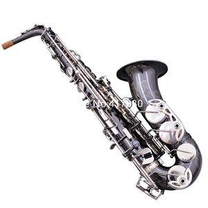 Высокое качество Германия JK SX90R Keilwerth Alto Saxophone EB плоский черный профессиональный музыкальный инструмент с перчатками
