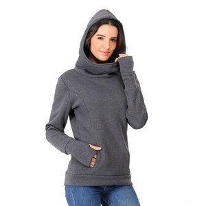 Womens soft Pregnant Blouse Nursing Long Sleeves Hooded Breastfeeding Hoodie Sweatshirts Pure Maternity Clothing Maternity Supplies color Ca