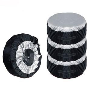 1PC 스페어 타이어 커버 케이스 겨울과 여름 자동차 타이어 보관 가방 자동차 타이어 액세서리 자동차 휠 프로텍터