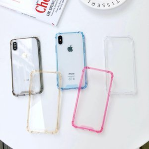 Acrylic cell phone case for iPhoneXR iPhoneXS MAX cases Anti-full transparent phone cover for iphone 11pro max