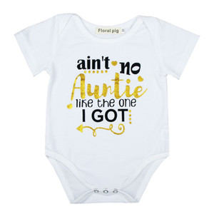 Infant Baby Girl Carta Jumpsuit do bebê roupa ocasional bebé recém-nascido roupa de escalada impressão algodão de manga curta macacãozinho 19