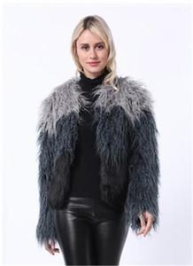 코트 모조 모피 착실히 보내다 캐주얼 긴 소매 여성 의류 여성 패션 Desigenr 가짜 모피 코트 긴 밍크 가짜