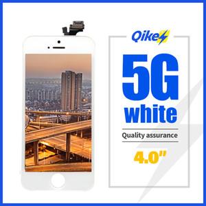 Qualité d'affichage lcd AAAA noir pour iPhone 5 écrans LCD blanc Digitizer écran avec écran tactile noir pour iPhone5 5G Affichage