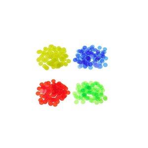 100 piezas de plástico de preescolar Montessori Juguetes Count color Cognición Partido bebé Educación Temprana la enseñanza de matemáticas juguetes para los niños
