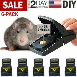 2PC Maus Schlagfallen Ratte Mäuse Eichhörnchen Killer-Trap-Power-Nagetier Wiederverwendbare Catcher Effektiver Sensitive Durable und Sanitär