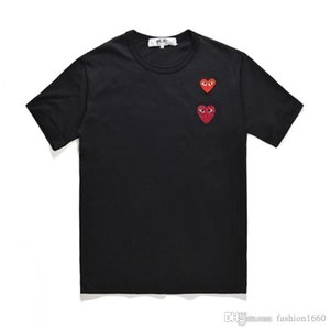 kurzärmelige Art und Weise Hip-Hop-Stil Baumwolle lose drucken T-Shirt schweißabsorbierend atmungs Stern gleichen Absatz A2 2020 Männer T-Shirt Frauen