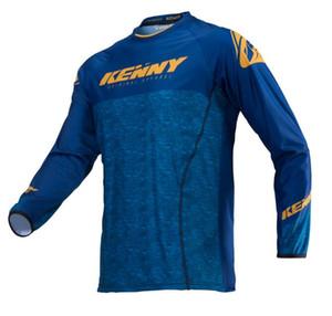 Yepyeni Kenny 2020 Erkekler Motosiklet Motokros Yarışı DH İniş Ücretsiz Tişörtlü Jersey Formalar Bisiklet Giyim XS ~ XXXXL