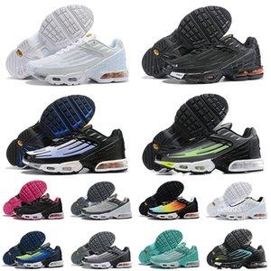chaussures hommes nike air max airmax tn plus 3 tuned nouvelle qualité à l'écoute Ultra hommes chaussures course Triple blanc noir Hyper bleu vert femmes formateurs coussin baskets