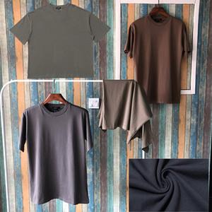 Calle season6 Forme la camiseta de manga corta ocasional del verano camiseta del color sólido Kanye West Hip Hop Hombres camiseta de las mujeres