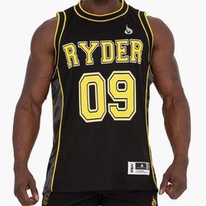 2020 New Men Sleeveless Tank Tops Male Gyms Fitness Bodybuilding Breathable Summer Clothing Casual Fashion basketball Vests MX200518