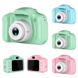 Juguetes Mini cámara digital para niños de 2 pulgadas de pantalla HD Chargable fotografía apoya linda del niño del bebé del regalo de cumpleaños Juego de exterior