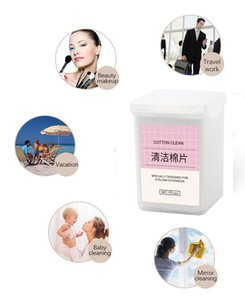 200Pcs box Lint-Free Nail Polish Remover Cotton Wipes UV Gel Tips Remover Cleaner Paper Pad Nails Polish Art Cleaning Manicure Tools