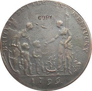 1796 USA Kolonialfragen Münzen kopieren
