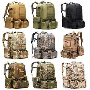 Военный Тактический рюкзак Oxford Камуфляж Trekking рюкзака Водонепроницаемая сумка Army Man путешествия Кемпинг Сумки Открытый Туризм Рюкзаки D29