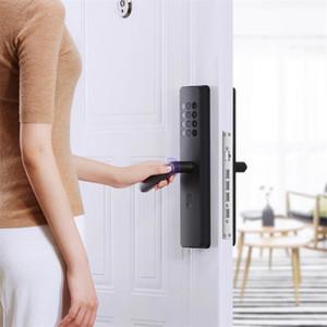 التعامل مع Xiaomiyoupin Xiaoda الالكترونية القفل الذكي بصمة Intellgent الباب مع قفل بدون مفتاح الذكية الرقمية أقفال الأبواب متاح