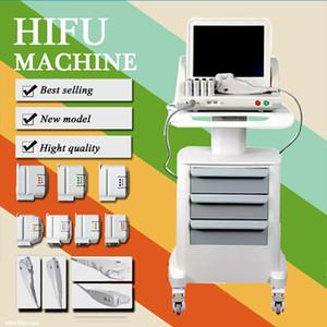 Tıbbi Sınıf HIFU Gerçek ABD Standart Yüksek Yoğunluklu Odaklanmış Ultrason Hifu Yüz Germe Hifu Zayıflama Makinesi Ile 3 Veya 5 İpuçları