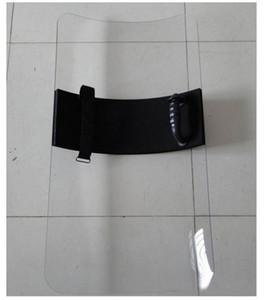 Safurance Прозрачный PC Ручной щит Анти- бунт щит для защиты Самостоятельная Protect 4 мм толщина 1 заказ