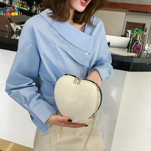 Women Zipper Heart Shaped Crossbody Bag Women Girls Heart Shape Handbag Evening Party Tote Purse Simple Fashion Shoulder Bag