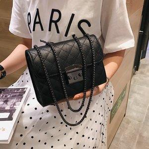 Small Messenger Chain Bag For Women 2019 Pu Leather Ladies Black Crossbody Bags Designer Luxury Woman Summer Shoulder Modis WE12 MX200324