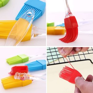 Silicone Butter Oil Brush BBQ Cook Pastry Grill Food Bread Basting Brush Baking Brushes Non Stick Bakeware Kitchen Dining Tool