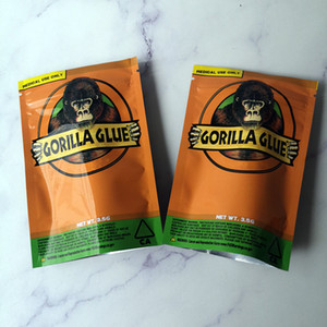 새로운 고릴라 GLUE BAG 캘리포니아 3.5G 마일 라 가방 드라이 허브 꽃 패키지 포장의 경우 증거 가방 고릴라 GLUE 지퍼 가방 냄새