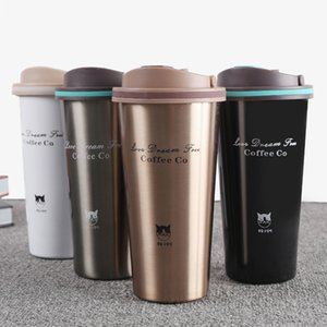 500ml Stainless Steel Vacuum Flasks Thermo Cup Coffee Tea Travel Mug Thermol Bottle Portable Car Thermos Water Bottle